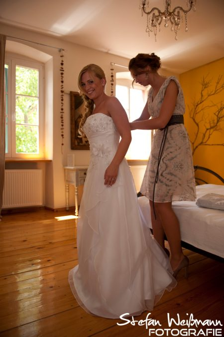 Hochzeit und Start