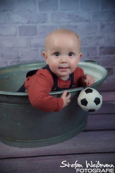 Fußballer will ich werden