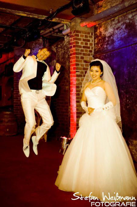 Hochzeit im Weinkeller
