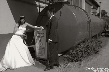 Hochzeit auf dem Bauhof