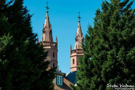 Liebfrauenkirche im Weingut